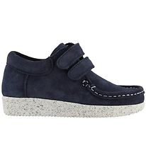 Nature Suede Shoes - Navy