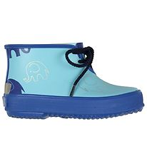CeLaVi Rubber Boots - Blue w. Elephants
