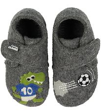 Living Kitzbühel Slippers - Grey w. Football
