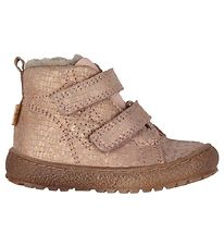 Bisgaard Winter Boots - TEX - Rose w. Pattern/Glitter