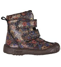Bisgaard Winter Boots - TEX - Navy Flowers