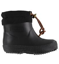 Bisgaard Thermo Boots - Low - Black w. Laces
