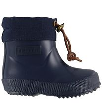 Bisgaard Thermo Boots - Low - Navy w. Laces