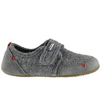 Living Kitzbühel Slippers - Wool - Grey
