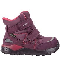 Ecco Winter Boots - Urban Mini - Gore-Tex - Mauve/Aubergine