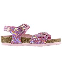 Birkenstock Sandals - Rio - Hologram Rose
