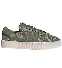adidas Originals Trainers - Sambarose - Army Green w. Camo/Gold