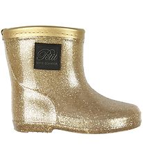 Petit by Sofie Schnoor Rubber Boots w. Lining - Ariel - Champagn