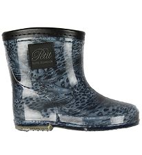 Petit by Sofie Schnoor Rubber Boots w. Lining - Alfred - Blue/Le