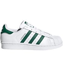 adidas Originals Trainers - Superstar J - White/Collegiate Green