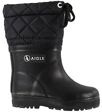 Aigle Thermo Boots - Woody Warm - Noir