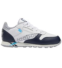 Reebok Classic Trainers - Classic Leather - White/Navy