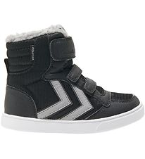 Hummel Winter Boots - Stadil Poly Booth Mid Jr - Tex - Black