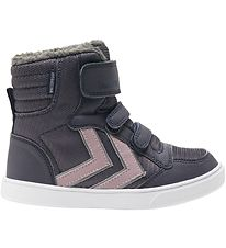 Hummel Winter Boots - Stadil Poly Booth Mid Jr - Tex - Graphite