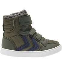 Hummel Winter Boots - Stadil Poly Booth Mid Jr - Tex - Forrest N