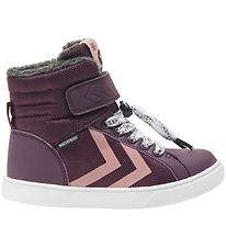 Hummel Winter Boots - Splash Polly Jr - Tex - Prune Purple