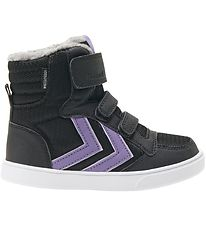 Hummel Winter Boots - Stadil Poly Booth Mid Jr -Tex - Black/Aste