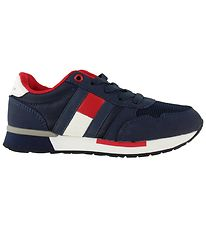 Tommy Hilfiger Trainers - Low Cut Lace-Up - Navy