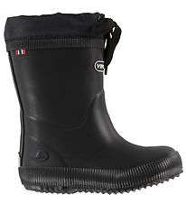 Viking Rubber Boots w. Linning - Classic Indie - Black