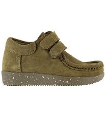 Nature Shoes - Ask - Suede WR - Moss Green