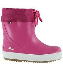 Viking Rubber Boots w. Linning - Alv Warm - Pink