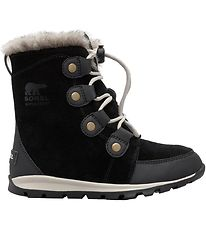 Sorel Winter Boots - Youth Whitney Suede - Black