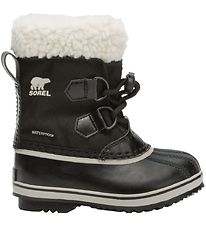 Sorel Winter Boots - Childrens Yoot Pac Nylon - Black
