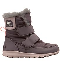 Sorel Winter Boots - Childrens Whitney Strap - Light Purple