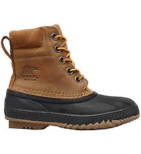Sorel Winter Boots - Youth Cheyanne Lace - Brown