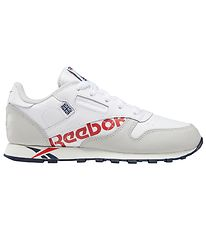 Reebok Classic Trainers - Classic Leather - White/Grey