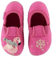Living Kitzbühel Slippers - Wool - Bubblegum