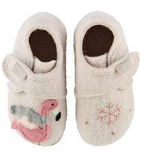 Living Kitzbühel Wool Slippers - Frost