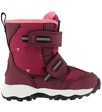 Color Kids Winter Boots - Sigurd - Dark Fuchsia/Burgundy