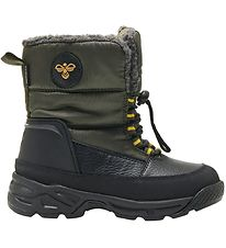Hummel Winter Boots - Tex - Snow Boot Low Jr - Forrest Night