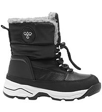 Hummel Winter Boots - Tex - Snow Boot Low Jr - Black