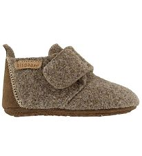 Bisgaard Slippers - Wool - Camel