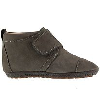 Bisgaard Soft Sole Suede Shoes - Grey