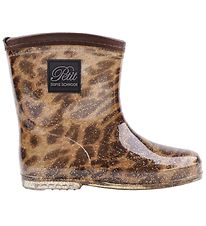 Petit By Sofie Schnoor Rubber Boots w. Lining - Ariel - Leopard
