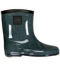 Petit By Sofie Schnoor Rubber Boots w. Lining - Alfred - Grøn Le