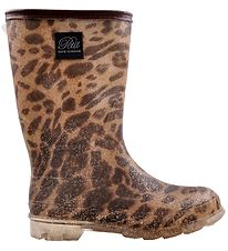 Petit By Sofie Schnoor Rubber Boots w. Lining - Anne - Leopard