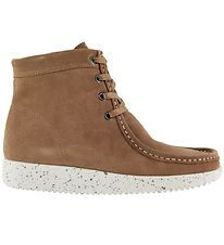 Nature Boots w. Lining - Asta - Suede WR - Toffee