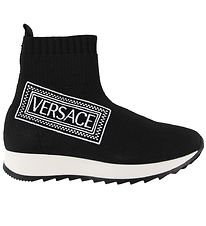 Versace Slip-On - Black w. Logo