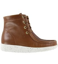 Nature Boots w. Lining - Asta - Leather - Tobacco