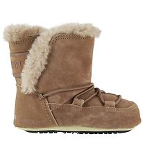 Moon Boot Prewalker w. Linning - Crib Suede - Whiskey