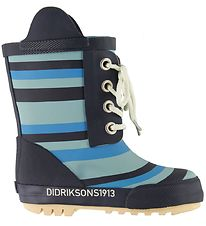 Didriksons Rubber Boots - Splashman - Striped Breeze