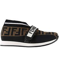Fendi Shoes - Black w. Logo