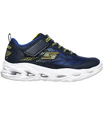 Skechers Sneakers w. Flash - Boys Vortex-Flash - Blue/Yellow