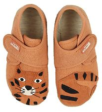 Living Kitzbühel Slippers - Terracotta w. Tiger