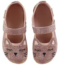 Living Kitzbühel Ballerina Slippers - Rose Shimmer w. Cat