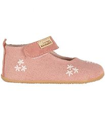 Living Kitzbühel Ballerina Slippers - Rose w. Flowers